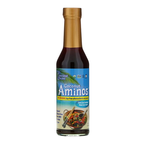 Coconut Secret, The Original Coconut Aminos, соус-приправа без сои, 237мл