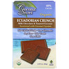 Coconut Secret, Organic Ecuadorian Crunch, Milk Chocolate & Toasted Coconut, 40% Cacao, 2.25 oz (64 g)