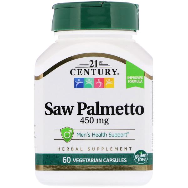 Saw Palmetto, 450 mg, 60 Vegetarian Capsules
