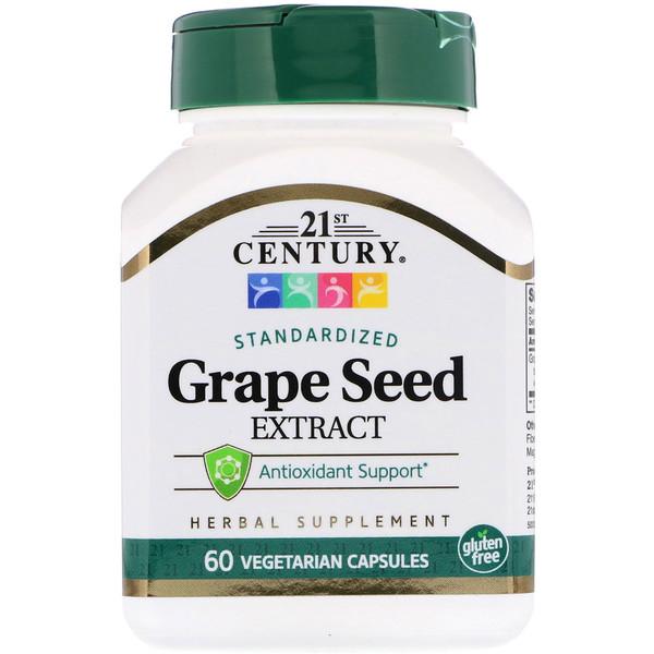 Экстракт косточек винограда 60 овощных капсул