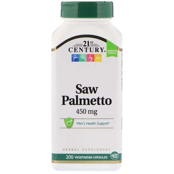 Saw Palmetto, 450 мг, 200 растительных капсул
