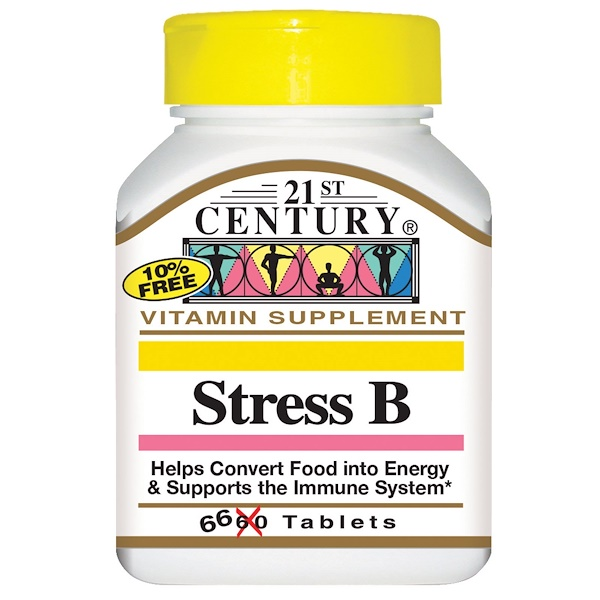 21st Century, Стресс B, 66 таблеток (Discontinued Item)