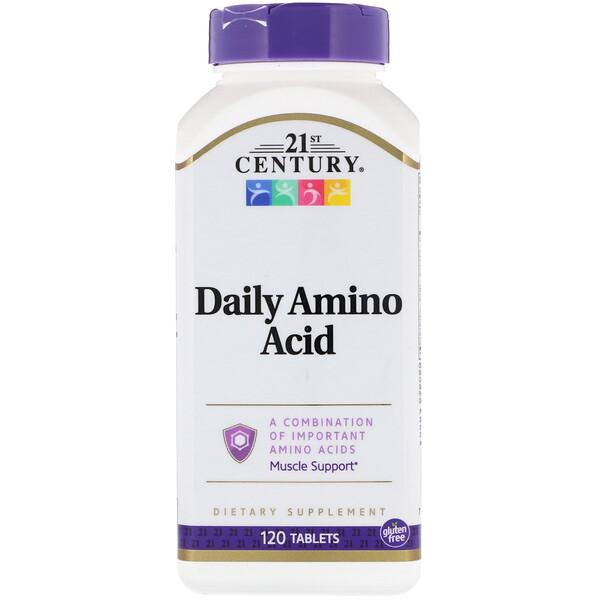 21st Century, Аминокислоты для ежедневного приема, 120таблеток