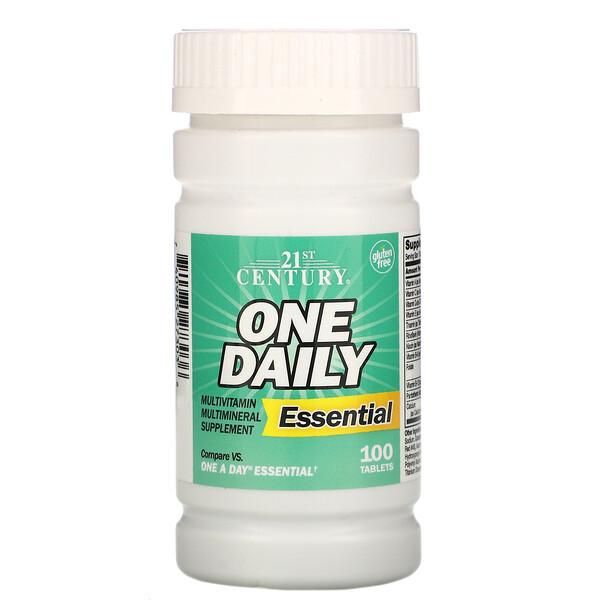 Одна таблетка ежедневно, комплекс необходимых элементов, 100таблеток