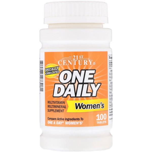 One Daily, для женщин, 100 таблеток