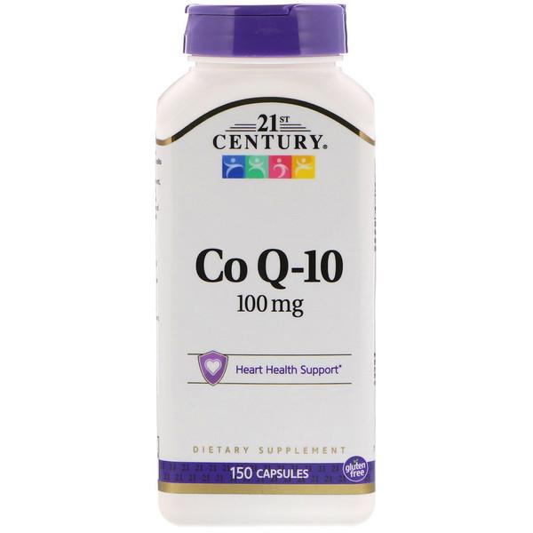 CoQ10, 100 mg, 150 Capsules