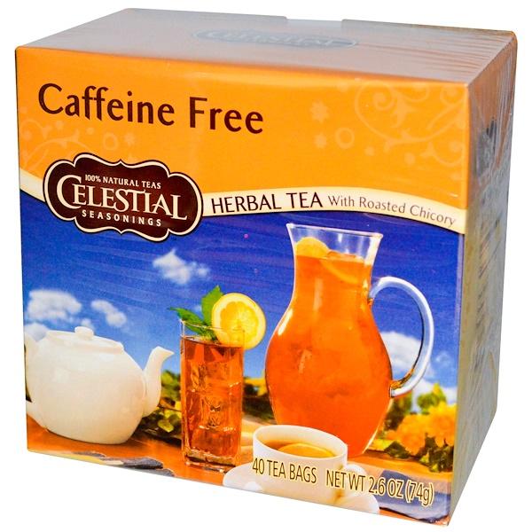 Celestial Seasonings, Травяной чай с обжаренным цикорием, без кофеина, 40 пакетиков, 74 г (Discontinued Item)