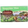Celestial Seasonings, Травяной чай, мята для времени сна, без кофеина, 20 чайных пакетиков, 1 унция (29 г)
