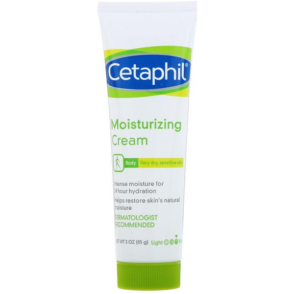 Moisturizing Cream, Very Dry, Sensitive Skin, 3 oz  (85 g)