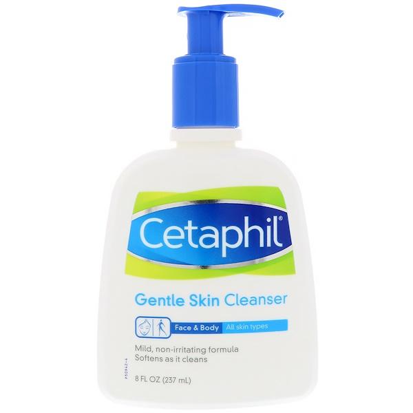 Нежное средство для очищения кожи, 8 жид.унций (237 мл)