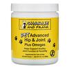 Charlie & Frank, Улучшенная формула для здоровья суставов животных с омега-кислотами, для котов и собак, 120 мягких жевательных таблеток