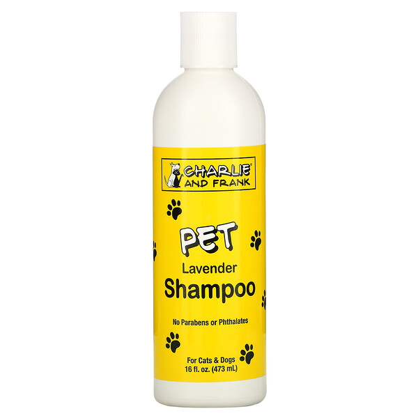 шампунь для животных, с запахом лаванды, 473мл (16жидк.унций)