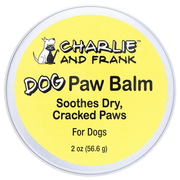 Charlie & Frank, Бальзам для лап собаки, 56,6г (2унции)