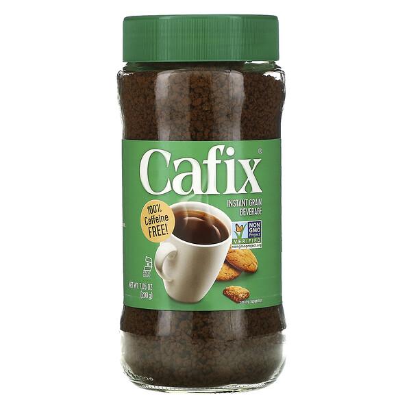 Cafix, Быстрорастворимый зерновой напиток, без кофеина, 200 г (7,05 унции)