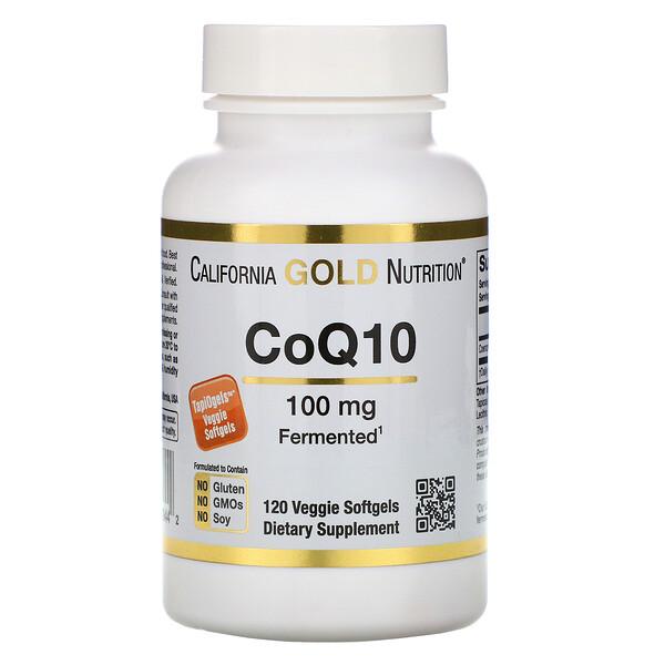 CoQ10, 100мг, 120 вегетарианских мягких желатиновых капсул