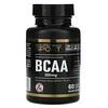 Калифорния Голд Нутришен, BCAA, аминокислоты с разветвленными цепями AjiPure®, 500мг, 60растительных капсул
