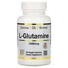 Калифорния Голд Нутришен, SPORT, L-глютамин, 1000мг, 60растительных капсул