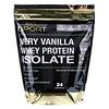 California Gold Nutrition, Изолят сывороточного протеина со вкусом ванили, 908г (2фунта)