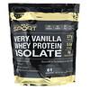 California Gold Nutrition, Изолят сывороточного протеина с ванильным вкусом, 2 270г (5 фунтов)