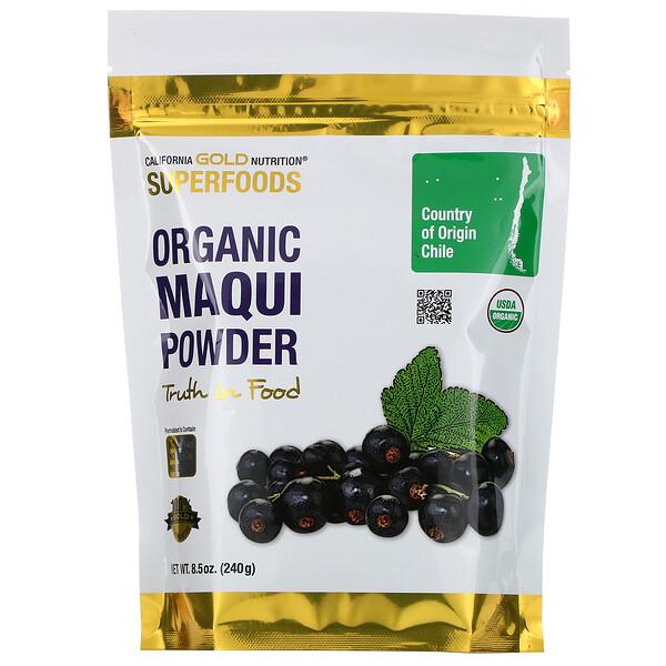 Superfoods, порошок органических ягод маки, 8,5 унции (240 г)