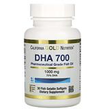 California Gold Nutrition, омега 800, рыбий жир фармацевтической степени чистоты, 80% ЭПК/ДГК, в форме триглицеридов, 1000 мг, 30 рыбно-желатиновых капсул - iHerb