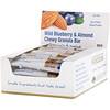 California Gold Nutrition, Foods, жевательные батончики-мюсли с дикой голубикой и миндалем, 12батончиков весом 1,4унции (40г) каждый