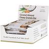 California Gold Nutrition, Foods, жевательные батончики с кокосом и миндалем, 12 батончиков весом 1,4унции (40г) каждый