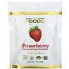 California Gold Nutrition, сублимированная клубника, кусочки ягод, готовые к употреблению, 28г (1унция)