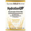 California Gold Nutrition, HydrationUP, смесь для напитка с электролитами, тропические фрукты, 20 пакетов весом 0,17унции (4,8г) каждый
