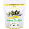California Gold Nutrition, Seaweed Rice Chips, чипсы со вкусом сыра, 60г (2унции)