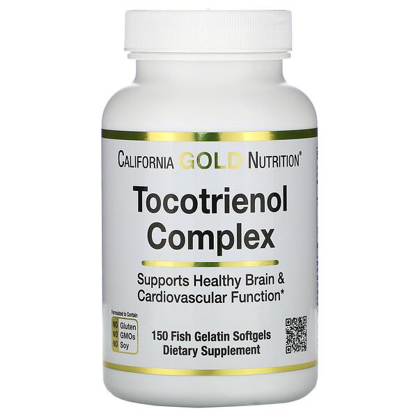Комплекс токотриенолов, 150 мягких капсул из рыбьего желатина