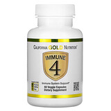 California Gold Nutrition, Immune 4, средство для укрепления иммунитета, 180 растительных капсул - iHerb
