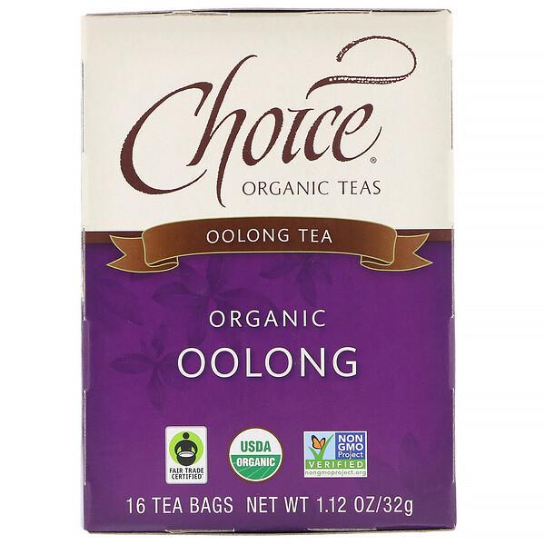 Oolong Tea, Organic Oolong, 16 Tea Bags, 1.1 oz (32 g)