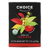 Choice Organic Teas, Herbal Tea, Organic Rooibos, Caffeine-Free, 16 Tea Bags, 1.12 oz (32 g)