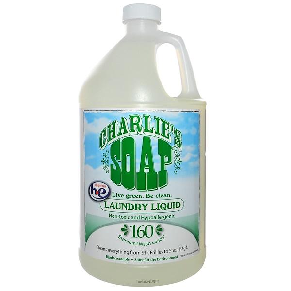 Charlie's Soap, Laundry Liquid, 1 Gal (3.8 L) (Discontinued Item)