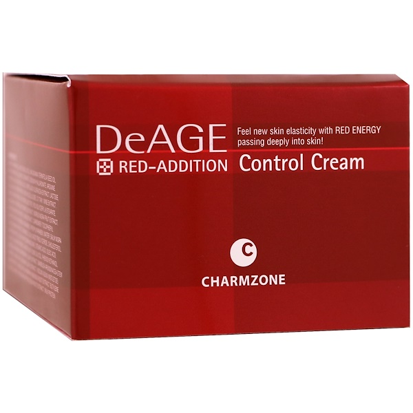Charmzone, DeAge, Red-Addition, крем для улучшения кожи лица, 6,08 унций (180 мл) (Discontinued Item)