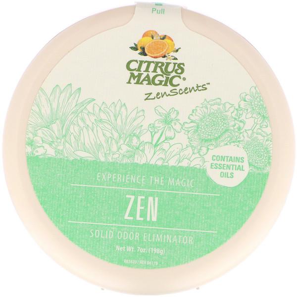 Citrus Magic, ZenScents, Zen, 7 oz (198 g) (Discontinued Item)