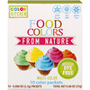 ColorKitchen, Food Colors From Nature, Multi-Color, 10 Packets, 0.088 oz (2.5 g) Each