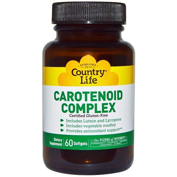 Комплекс каротиноидов, 60 мягких желатиновых капсул