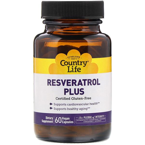 Resveratrol Plus, 60 веганских капсул