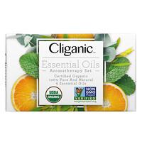 Cliganic, Essential Oils, Aromatherapy Set, 4 Piece Set