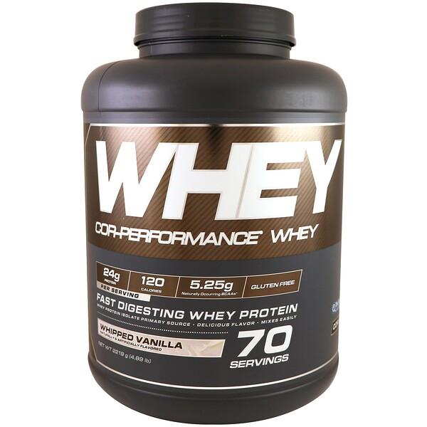 Cor-Performance Whey, Whipped Vanilla, 4.89 lbs (2219 g)