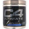 Cellucor, C4 Ultimate, средство для приема перед тренировкой, с освежающим вкусом малины, 380г (13,4унции)