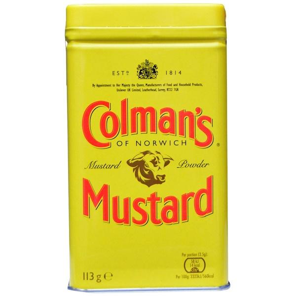 Colman's, Горчичный порошок высшего качества, 4 унции (113 г) (Discontinued Item)