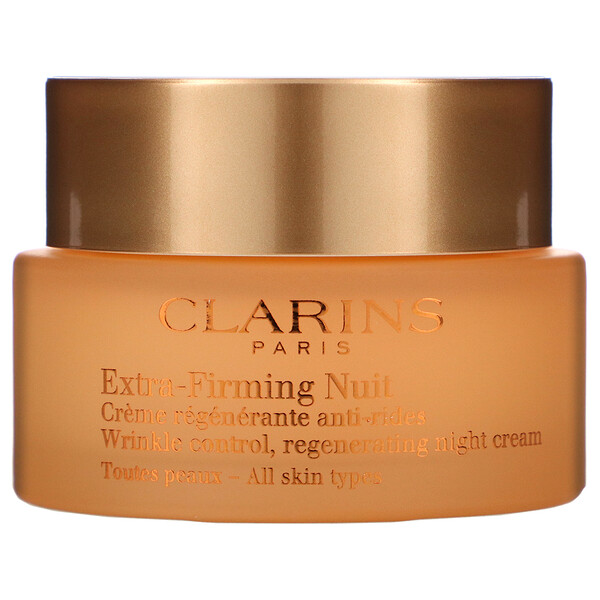 Clarins, Extra-Firming Nuit, Regenerating Night Cream, 1.6 oz (50 ml)