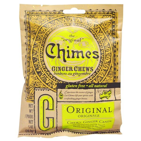 имбирные жевательные конфеты, оригинальный вкус, 141,8 г (5 унций)