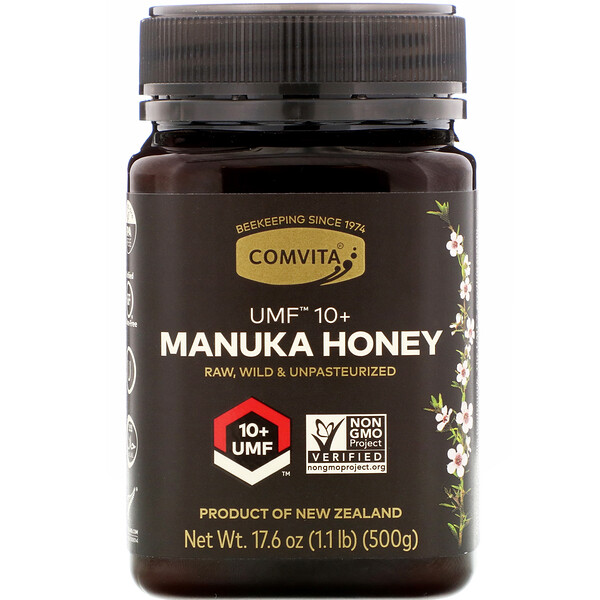 Manuka Honey, UMF 10+, 1.1 lb (500 g)
