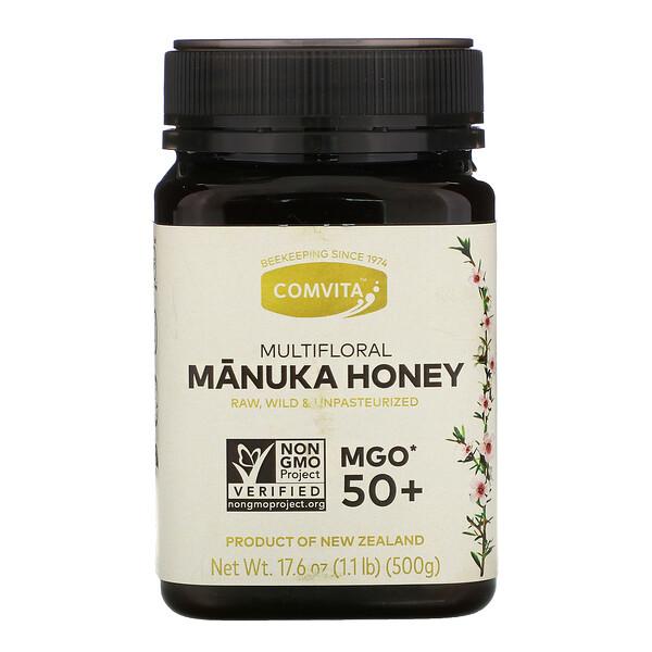 Multifloral Manuka Honey, MGO 50+, 17.6 oz (500 g)