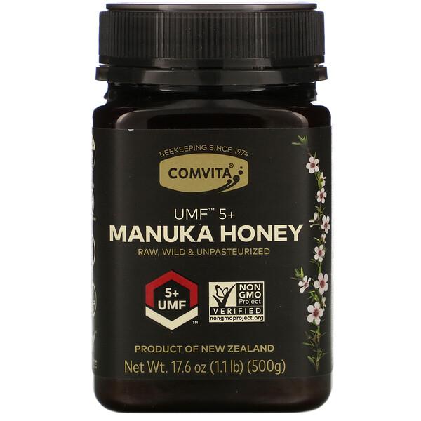 Manuka Honey, UMF 5+, 1.1 lb (500 g)