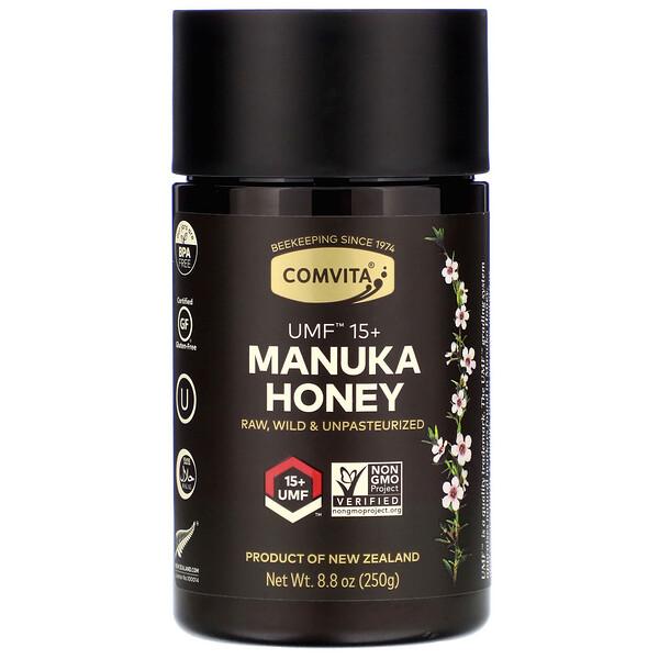 Мед манука, UMF15+, 250г (8,8унции)